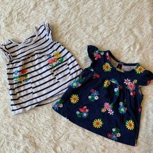 EUC Carters short sleeve summer shirts 9 months
